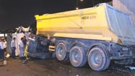 İstanbul trafiğini kilitleyen kamyon kazası!