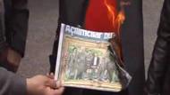Sözcü'nün Kandil fotoğraflı manşetini yaktılar!