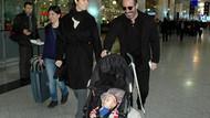 Cem Yılmaz küçük Kemal'le Roma'ya uçtu!