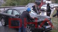Fenerbahçeli ünlü futbolcu Dia kaza yaptı!