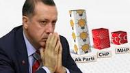 Son ankette AKP'nin oyları ne kadar düştü?