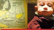 Cem Yılmaz oğlunu 16 yıl önce Leman'da çizmiş!