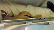 THY'de bacak skandalı böyle fotoğraflandı!