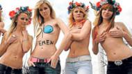 Ukrayna'da şok protesto! Şampiyona, fuhuş turizmini artıracak!