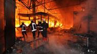 Düzce'de yangın! 5 eve sıçradı...
