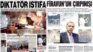Aydınlık Diktatör, Birgün Firavun dedi! İşte gazete manşetleri..