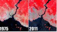 İstanbul'un 36 yıllık değişimi uzaydan böyle görünüyor!