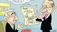 YSK krizi mizah malzemesi oldu! İşte düşündüren karikatürler!