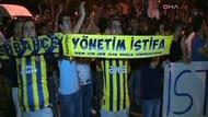 Fenerbahçeli taraftarlardan Aziz Yıldırım'a tepki!