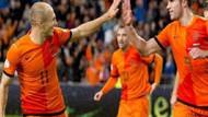 Hollanda'dan Macaristan'a 8 gol! Acı hatıra..