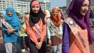 Bu da müslüman güzellik yarışması!