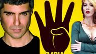 Hande Yener ile Özcan Deniz'den R4BIA işareti!