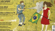 Gezi Parkı Brezilya dergisine kapak oldu!