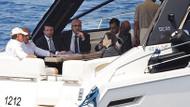 Erdoğan teknede çekilen fotoğraflar için ne dedi?