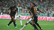 Bursaspor 1-1 Galatasaray! Aslan Timsah'a takıldı!