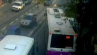 Genç kadın otobüsle ağaç arasında sıkışıp öldü!