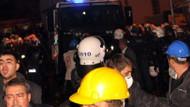 Eylemci işçilere polis müdahale etti! 14 yaralı var