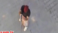 PKK'lı polise böyle ateş açtı! O anlar kamerada...