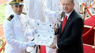 Erdoğan ve Gül Harp Okulu mezuniyet töreninde!