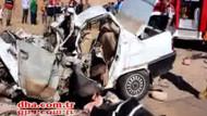 Bayram sabahı trafik katliamı! 7 kişi öldü..