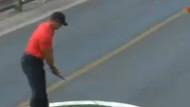 Tiger Woods'dan Boğaz Köprüsü'nde tarihi vuruş!