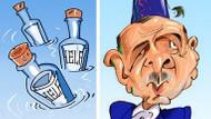 İran medyasından şok Erdoğan karikatürü!