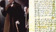 İşte Atatürk'ün sansüre uğrayan o yazısı!