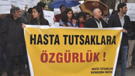 Tuncel'den hasta tutsaklara özgürlük eylemi!