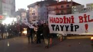 Ankara'da kızlı erkekli eyleme polis müdahalesi!