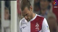 Sneijder golü attı ama, sevinmedi!