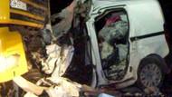 Bakanın ailesi kaza yaptı! 5 kişi öldü...