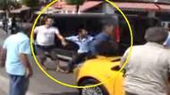 Çılgına dönen şoför o yolcuyu indirip yumrukladı!