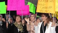 AK Partili kadınlardan Kamer Genç protestosu!