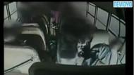 Okul servisinde kabus! Şoförün kalbi durdu!