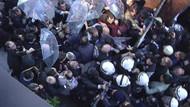 Kanaltürk önünde polis müdahalesi!