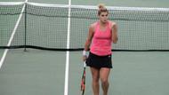 Milli tenisçiler Özgen ve Eraydın yarı finalde
