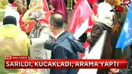 AK Parti mitinginde şüpheli kadın alarmı