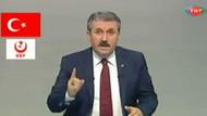Destici TRT konuşmasında TRT'yi eleştirdi