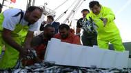 Davutoğlu balığa çıktı, 80 kasa istavritle döndü