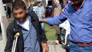 Engelli tacizciyi mobese kamerası yakalattı