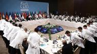 G20'de senkronize yemek servisi