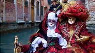 Venedik Karnavalı'nda maskeli terör korkusu