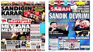 Gazeteler Ak Parti'nin zaferini nasıl gördü?