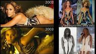 Beyonce'nin JLo taklitleri