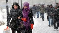 Meteoroloji'den uyarı: Bu gece kar geliyor!