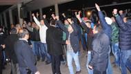 Bursaspor'a havaalanında taraftardan şok tepki