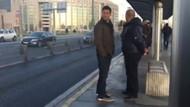 İzzet Yıldızhan'ın metrobüs keyfi!