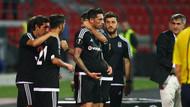 Skenderbeu 0-1 Beşiktaş... Kartal uçuyor