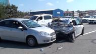 TEM'de zincirleme kaza: 2'si ağır 18 yaralı!