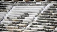 Aspendos'da hamam mermeri tartışması